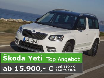 Angebot Škoda Yeti