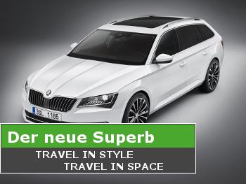 Der neue Škoda Superb